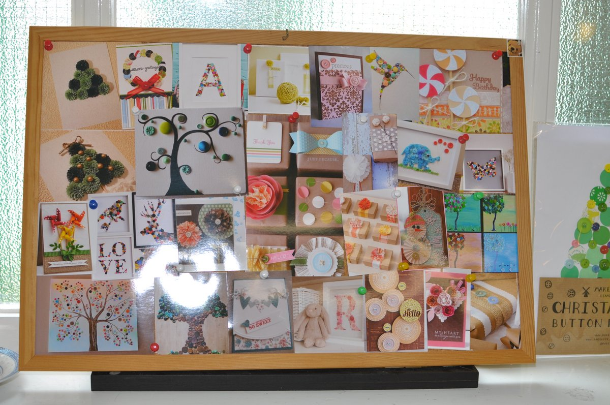 Pinboard full of inspirations!