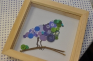 Button and Paper Craft Class