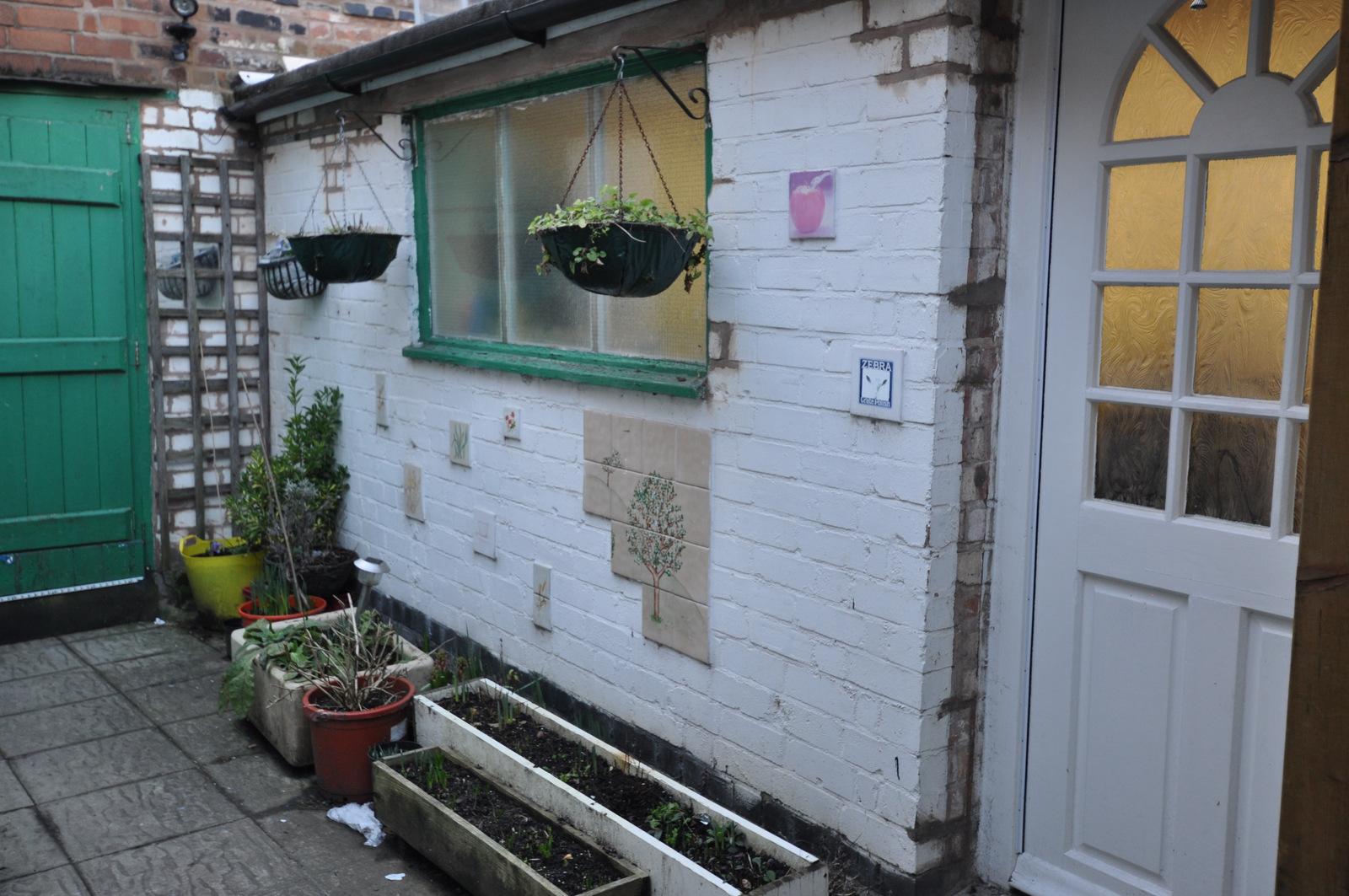 The workshops courtyard