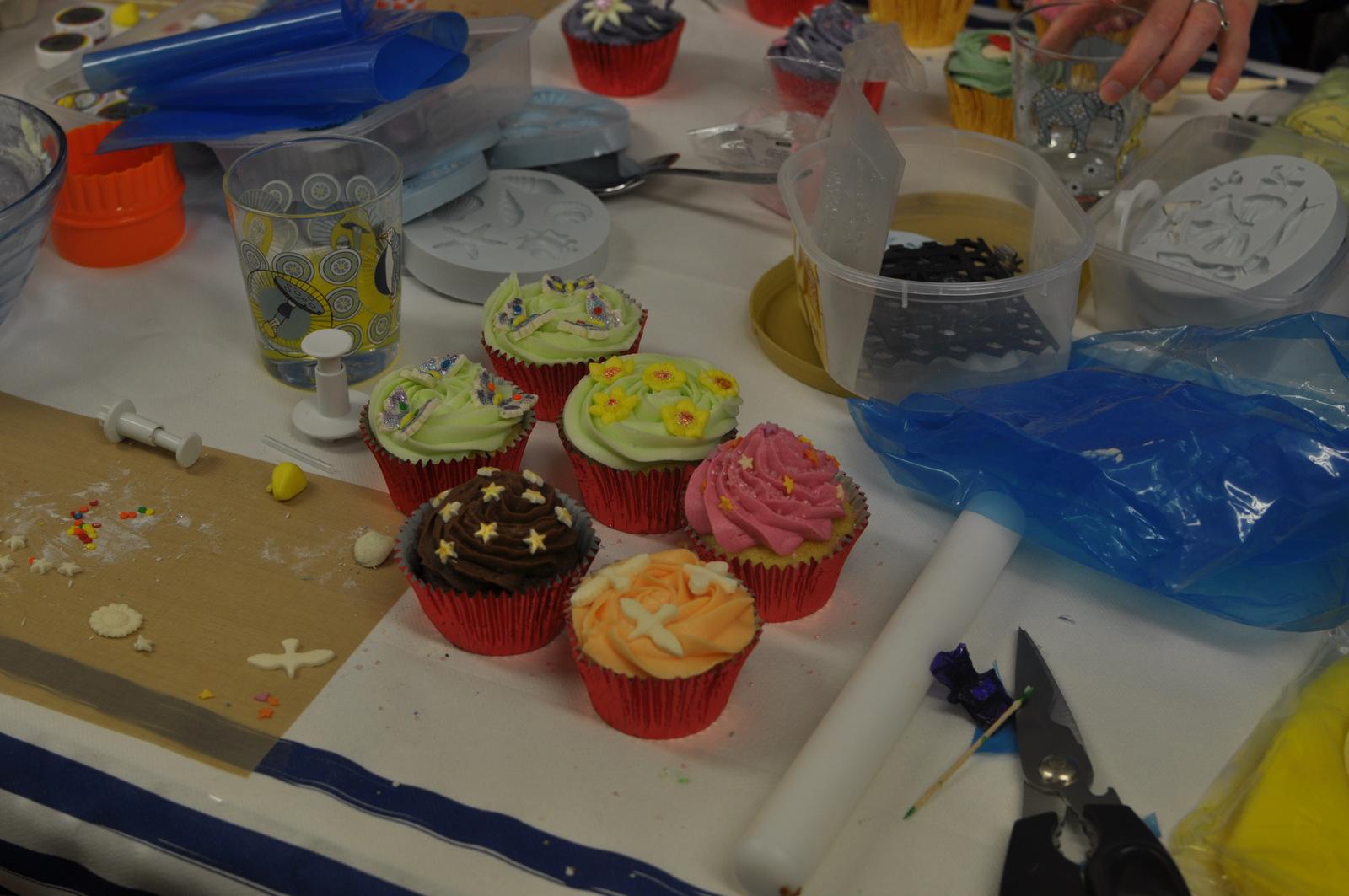 Finished cakes!