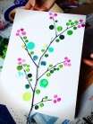 Nature Inspired Button Craft