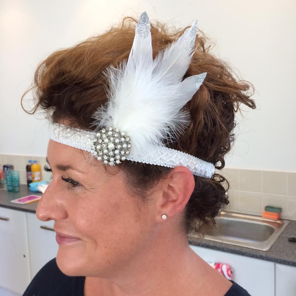 Leamington fascinator headdress class