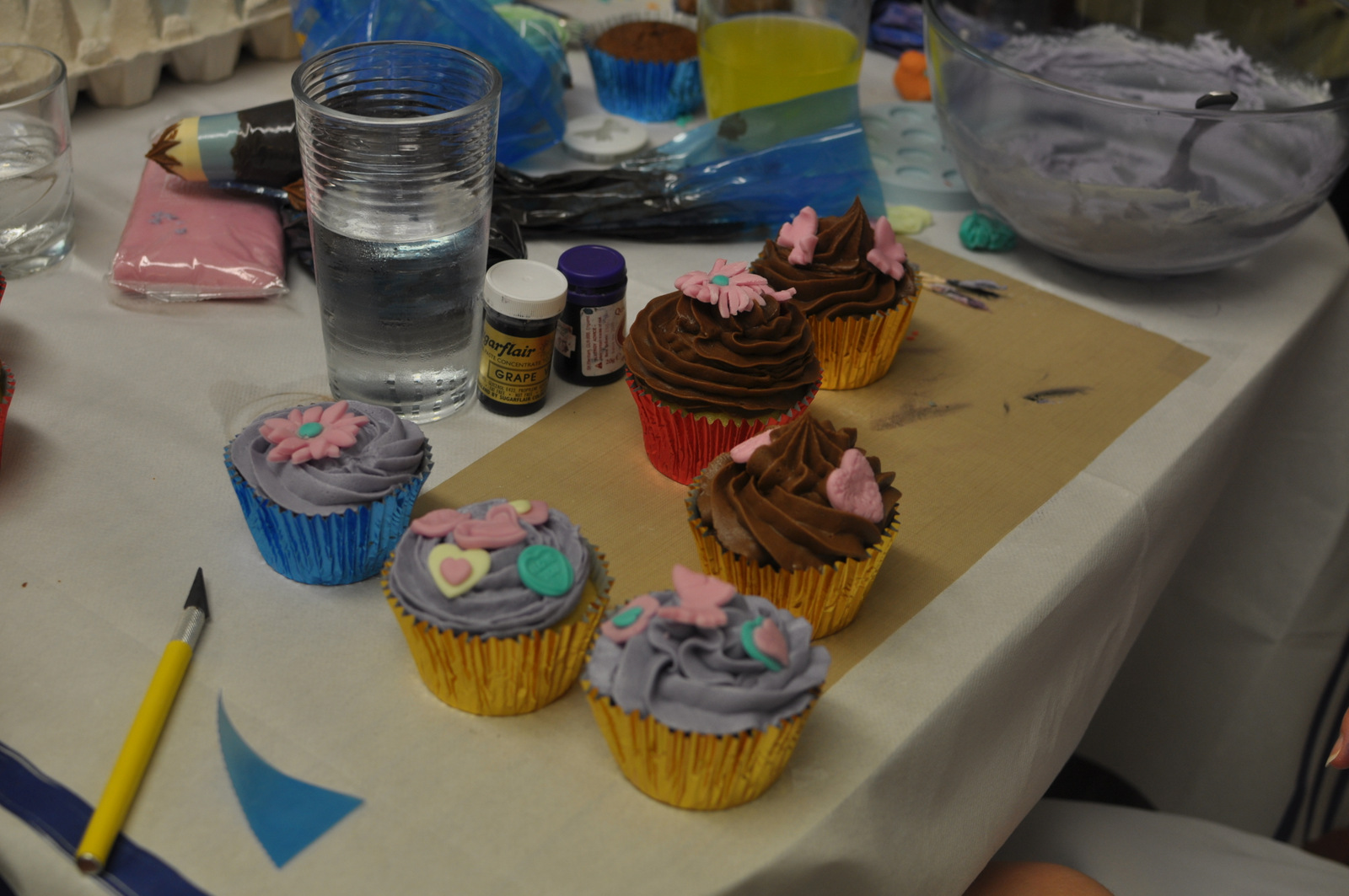 Cupcake workshops and parties. Cake decorating classes ...
