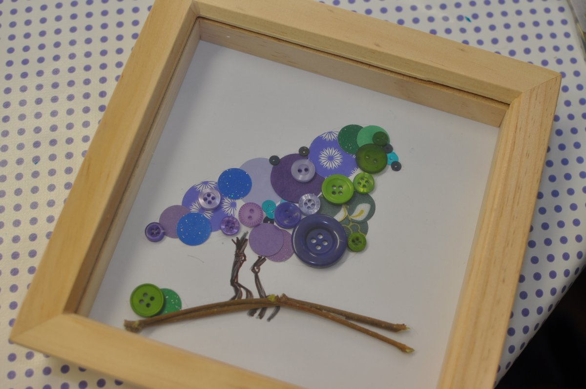Button and Paper Crafts