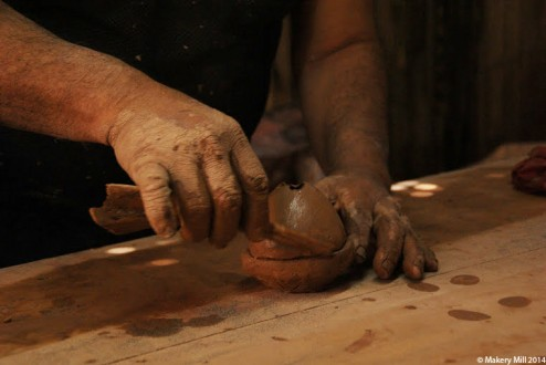 Clay shaping