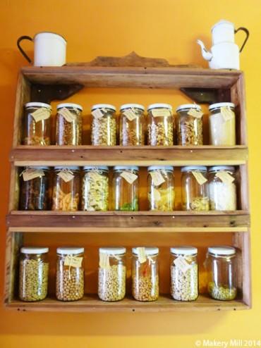 Ingredients display